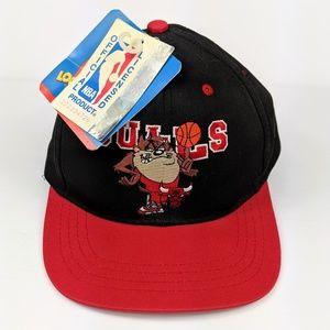 Vintage Chicago Bulls Taz Looney Tunes Hat NWT